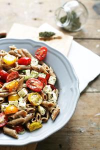 Feta-pasta-met-tomaat