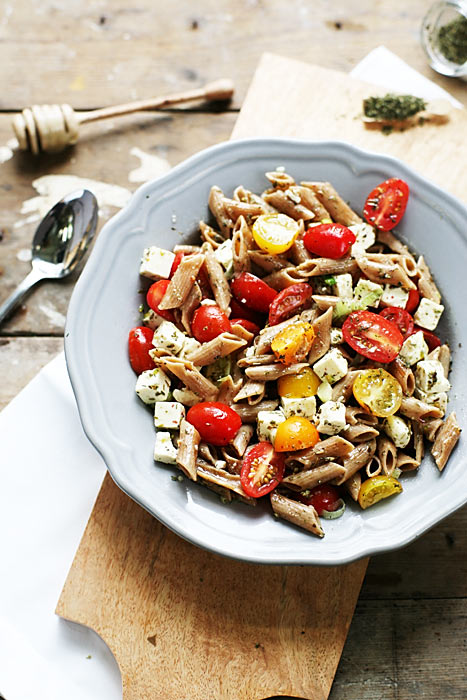 Feta-tomaat-pasta