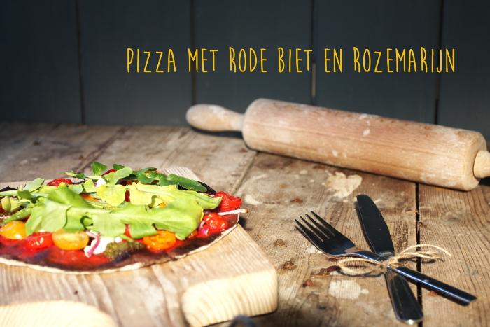 Rode biet pizza 2a