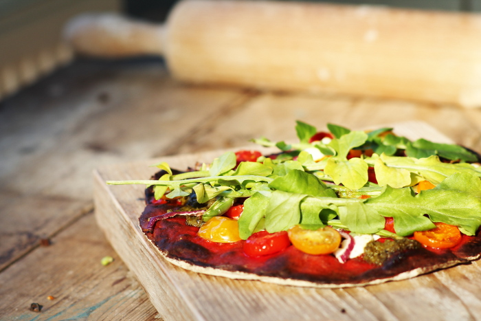 Rode biet pizza 5a