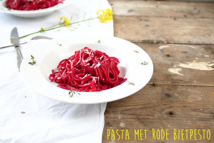 pasta met rode biet 2