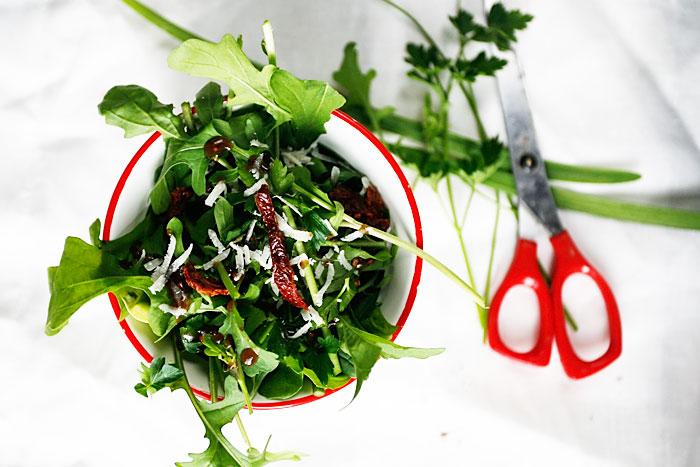 Salade-uit-de-kas