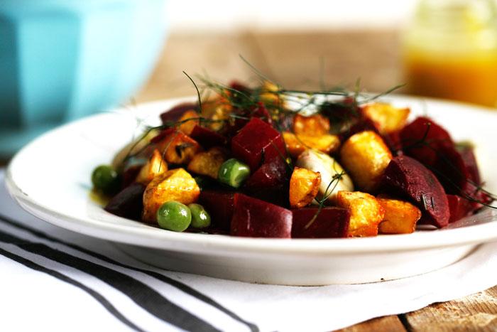Aardappel-salade