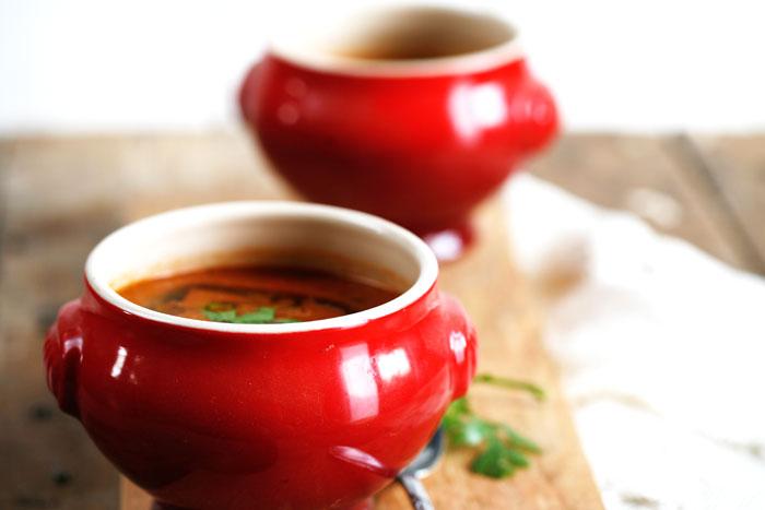 Rode-linzen-soep