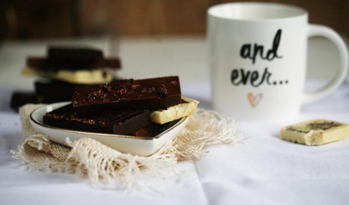 Chocoladerepen maken